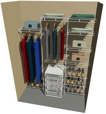 Kitset Wardrobes Nz Kitset Wire Shelving Systems