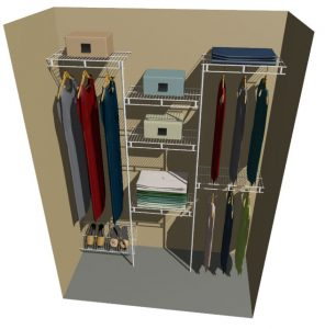 Jupiter Ventilated Wire Wardrobe Design