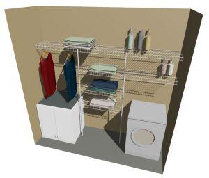 Laundry Shelving Kitset