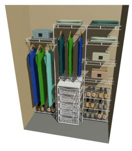 Single Reach In Wardrobe Organiser Range