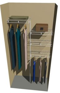 Venus Ventilated Wire Wardrobe System