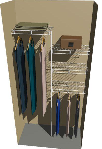 Venus Ventilated Wire Wardrobe System