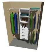 Clutha Wardrobe Organiser