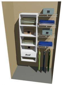 Ohio Melteca & Ventilated Wire Wardrobe Design