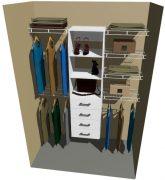 Tasman Wardrobe Organiser