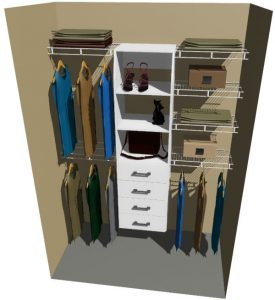 Tasman & Ventilated Wire Wardrobe Design