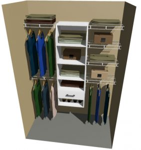 Texas Melteca & Ventilated Wire Wardrobe Design