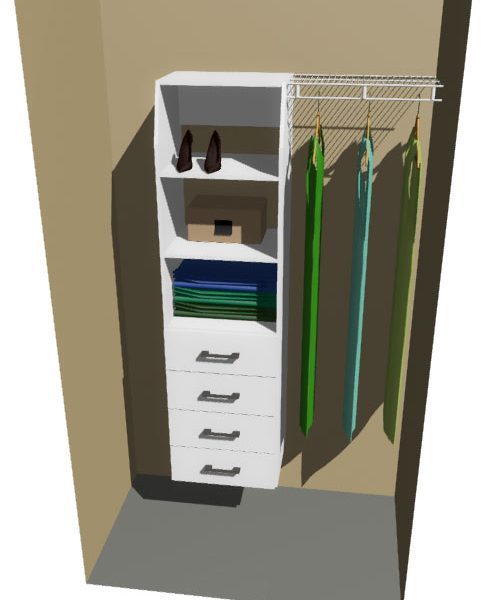 Timaru & Ventilated Wire Wardrobe Design