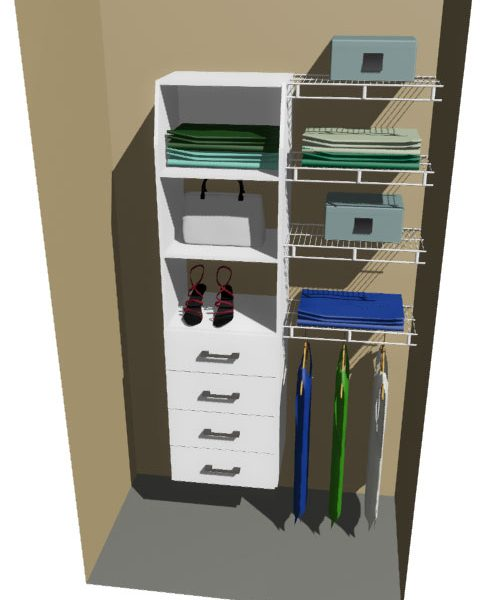 Waimate & Ventilated Wire Wardrobe Design