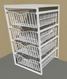 4 Drawer Basket Set
