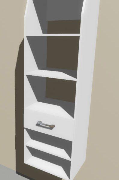 Melteca Wardrobe Tower