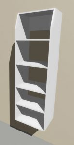 Melteca Wardrobe Tower