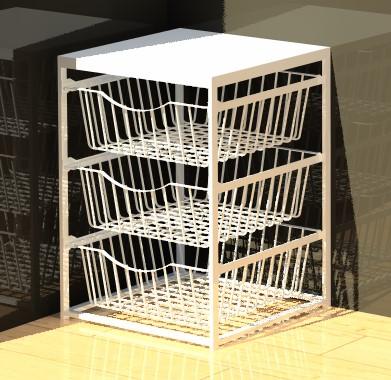 3 Drawer Basket