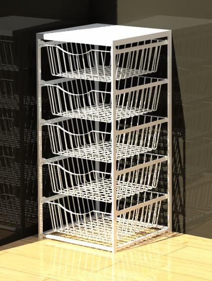 5 Drawer Basket