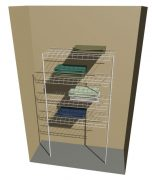 Freestanding Linen – 4 Shelves