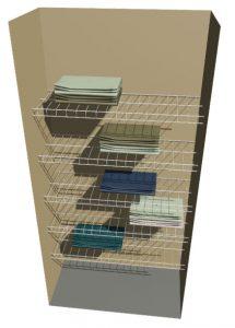 Linen – 5 Shelves